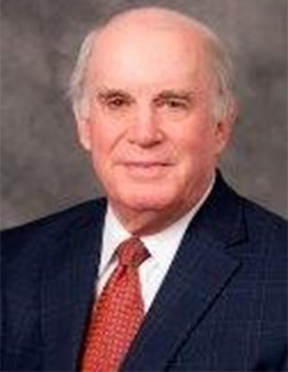 Secretary Mr. Williams is a Senior Partner of Burr & Forman's Litigation Group with over 40 years of experience in all areas of trial practice, including jury and non-jury trials, arbitrations and mediations. Specializing in complex business, health care, and securities litigation, he has successfully tried numerous jury trials. Former Chairman of the Board of Trustees of the Hillsborough County Hospital (Tampa General Hospital) and Former president of Cove Board of Trustees. Current Board Of Trustees member with Cove since 1999.