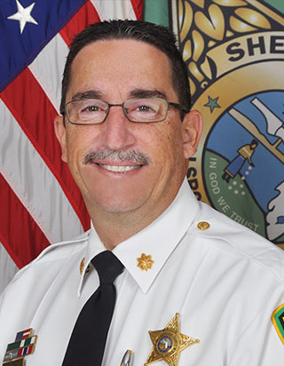 Member  Major Frank Losat began his career in Law enforcement in 1990, serving as a state trooper with the Florida Highway Patrol before joining the Hillsborough County Sherriff's Office in 1994. His positions included street crimes, narcotics and criminal Investigations. Also in supervisory roles in the homicide section, patrol district street crimes and investigations and in the Special Investigations Division where he oversaw narcotic investigations and the crime analysis unit. Current Board of Trustees member with DACCO since 2015.